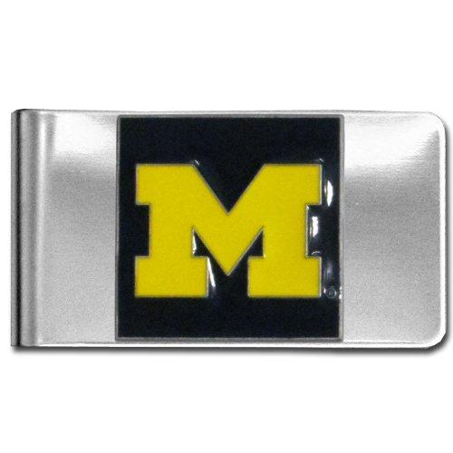 NCAA Michigan Wolverines Steel Money Clip