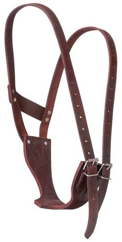 Tough-1 Crib Be Gone Leather Collar Horse