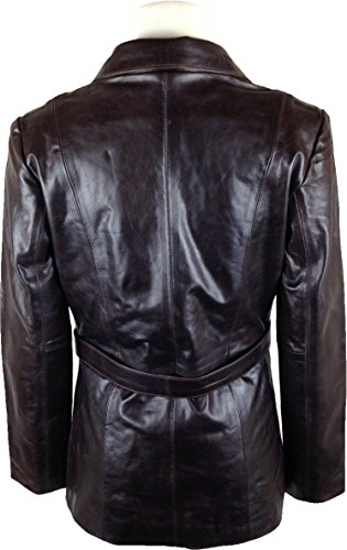Genuino chaqueta largo Abrigo real cuero UNICORN Mujeres longitud 5InqTUwxz6