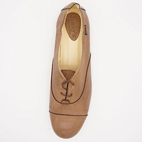 Jonny's - Zapatos de cordones de Piel Lisa para mujer marrón marrón
