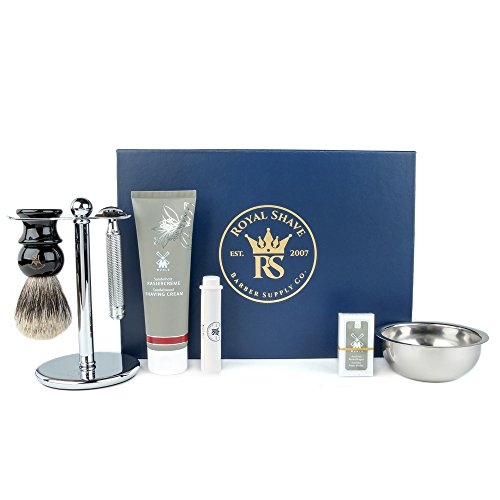 Muhle R89 7 Piece Safety Razor Shaving Set (Sandalwood) by Muhle
