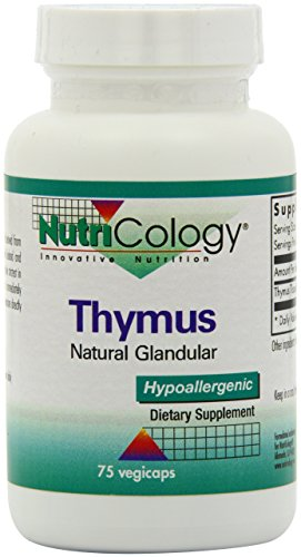 Nutricology Thymus, Vegicaps, 75-Count by Nutricology (Image #7)