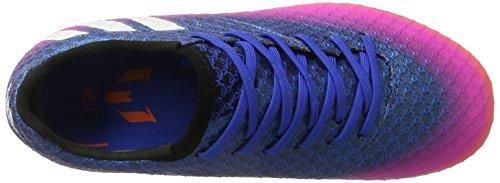 adidas Messi 16.1 Fg J, para los Zapatos de Entrenamiento de Fútbol Unisex Niños Azul (Azul/ftwbla/narsol)