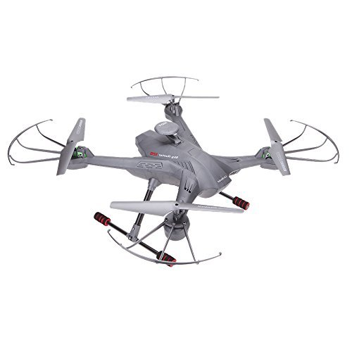 GoolRC Lian Sheng SKY Hunter LS-128 2.4G 4CH 6-Axis Gyro Real-time Headless RC FPV Quadcopter Drone-Gray