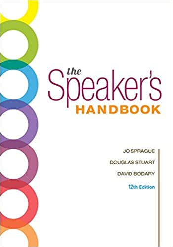 The Speaker S Handbook Spiral Bound Version 9781337558617