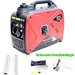 Generatore-Inverter-Gruppo-Elettrogeno-Super-Silenziato-1kw-Genmac-Gr1000in-Benzina-4-Tempi-Accessori-E-Power-Bank-Omaggio