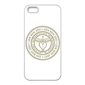 Bon Jovi Pattern Design Solid Rubber Customized Cover Case for iPhone 4 4s 4s-linda532