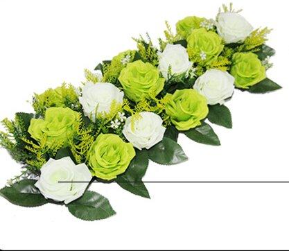 Amazon Artificial Arch Flower Mat Rose Arrangement For Wedding