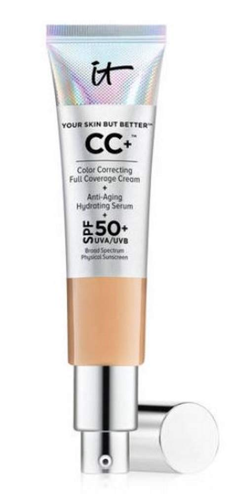 IT Cosmetics Your Skin But Better CC Cream with SPF 50+, Medium 1.08 fl oz