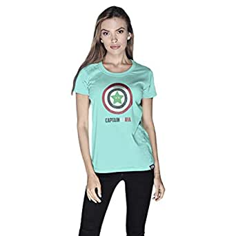 Creo Captain Syria T-Shirt For Women - M, Green