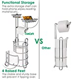 TomCare Toilet Paper Holder Toilet Paper Stand with