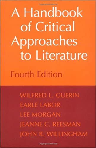 a handbook of critical approaches to literature pdf free download