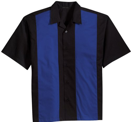 Retro Camp Bowling Shirts in 5 Colors from XS-4XL