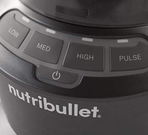 41ktYENKCML. AC - NutriBullet ZNBF30400Z Blender 1200 Watts, 1200W, Dark Gray