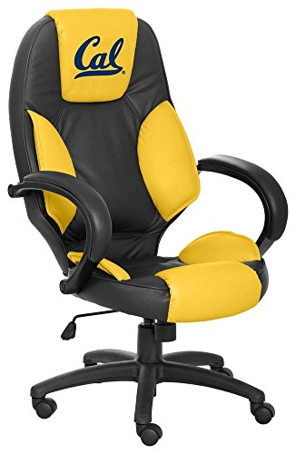 NCAA College California Golden Bears Leather Executive Office Chair