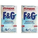 Genuine Eureka F&G Vacuum Bag 54924B - (2 packs of 10 = 20 bags)