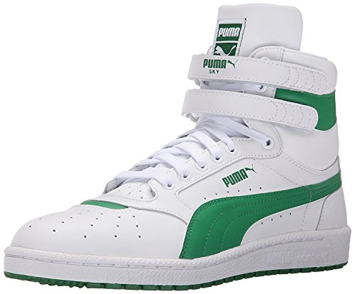 Puma Mens Sky II Hi FG Fashion Sneakers, White/Amazon, 47 D(M) EU/12 D(M) UK