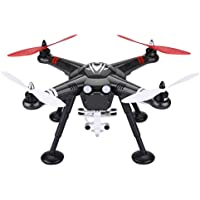 WLtoys X380 RC Quadcopter Drone 2.4G 4CH Headless Mode One Key Return GPS with Camera Shock Absorption - Black
