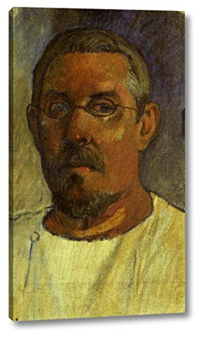 Self Portrait with Spectacles by Paul Gauguin - 10