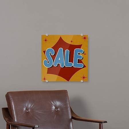 Nostalgia Burst Premium Brushed Aluminum Sign CGSignLab 5-Pack 16x16 Sale