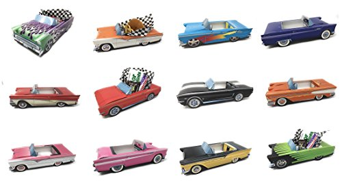 Price comparison product image 12 Classic Car Party Food Boxes - Ford Collection