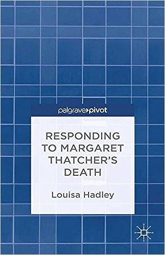 Public domain lydbøger download Responding to Margaret Thatcher's Death (Palgrave Pivot) 1349491357 PDF DJVU