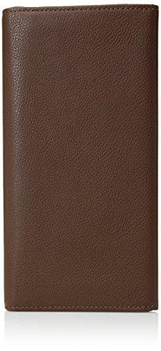 1 Breast Pocket - TUMI Men's Nassau Breast Pocket Wallet, Brown Texture, One Size