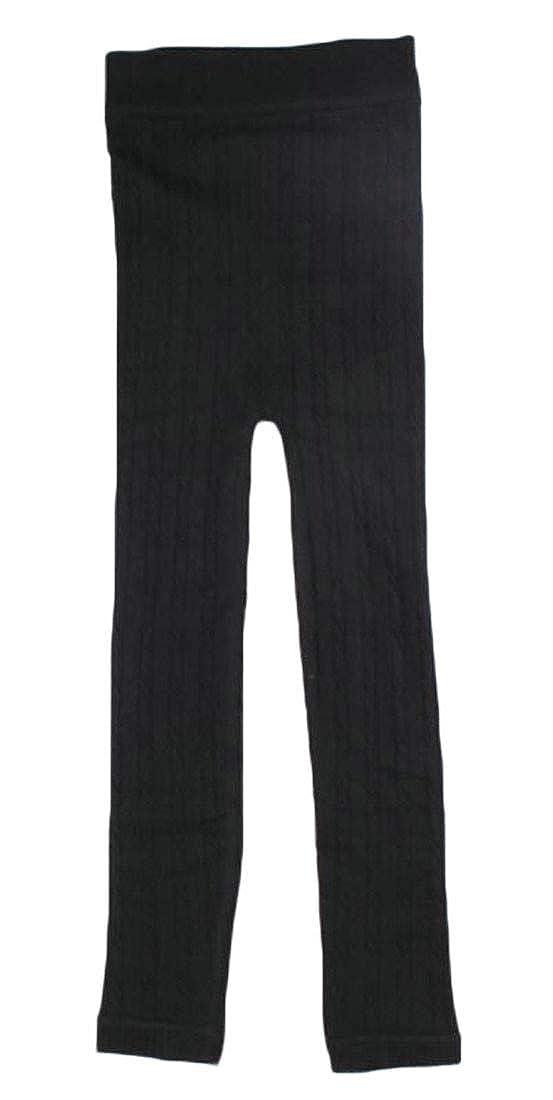 Sweatwater Girl Knitwear Fleece Tights Winter Thicken Stretchy Leggings Pants