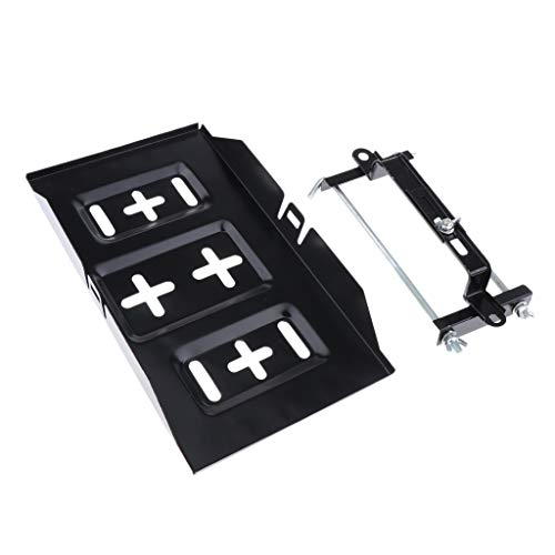Battery Tray Holder with Adjustable Clamp for Car Auto Boat Universal Hold Down Tray Adjustable Stabilizer Bracket 19cm//23cm//27cm GW IrahdBowen Car Battery Box Holder