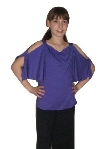 Tanzoutfit, Tanzshirt, Fledermausshirt, Größe 38