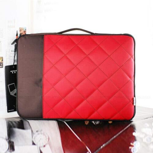 Carrying Laptop Case 12.1' (FidgetGear Universal Laptop Bag Carry Bag Sleeve Case for 10 12 13 14 15 Tablet Notebook Red 12