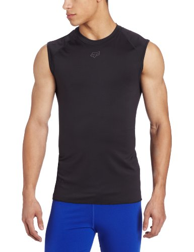 Fox Head Men's First Layer Sleeveless Jersey, Black, X-Large - Fox Racing Sleeveless Jersey