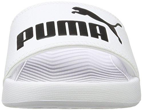 Popcat Bianco Da Scarpe Puma Adulto Unisex black Piscina Spiaggia E – white Bfdnnx