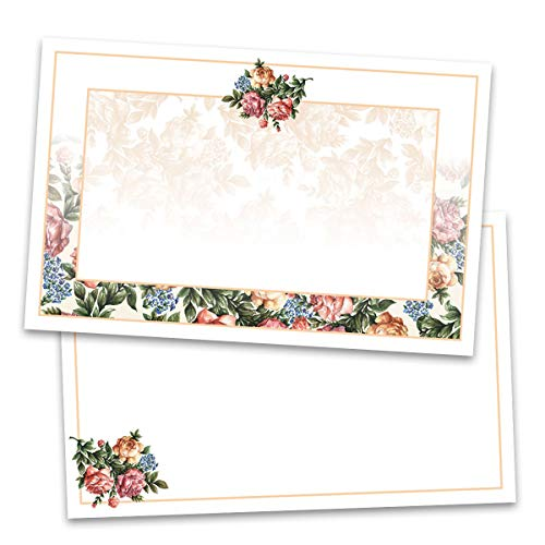 (Victorian Flowers Postcards, Jumbo Size, 50 Count)