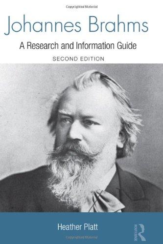 Johannes Brahms (Routledge Music Bibliographies)