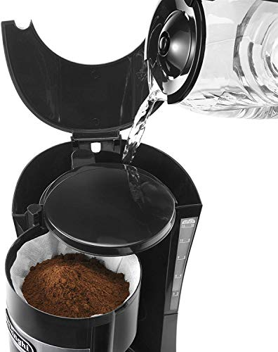 ماكينة تحضير القهوة المفلترة، لون أسود، Dlicm15211 من ديلونجي