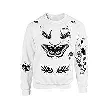 Allntrends Harry Style Sweatshirt Tattoo One Direction Shirt Tee