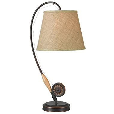 Kenroy Home 32193ORB Fly Rod Table Lamp