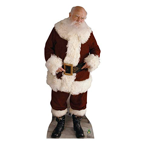 Advanced Graphics Santa Life Size Cardboard Cutout Standup - Elf (2003 Film)]()
