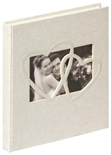 Walther Sweet Heart GB-123 Guest Book 23 x 25 cm, 144 White Pages (Heart 123)