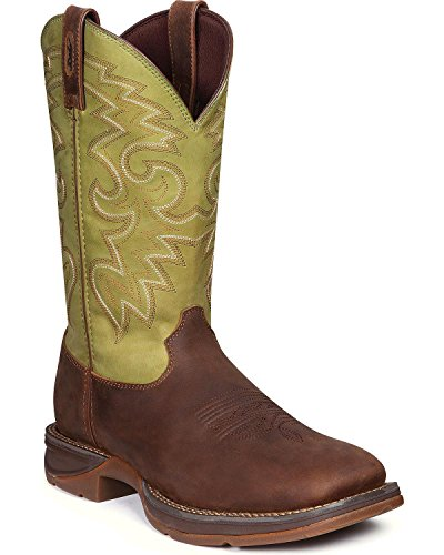 Durango Mens Rebel Db5416 Western Boot Coffee Cactus 9 W Us