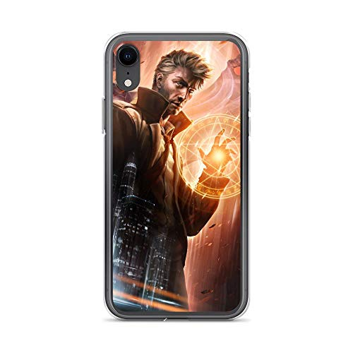 iPhone XR Transparent Shockproof and Anti-Scratch Case Constantine City of Demons (The Capital Of The Byzantine Empire Was)