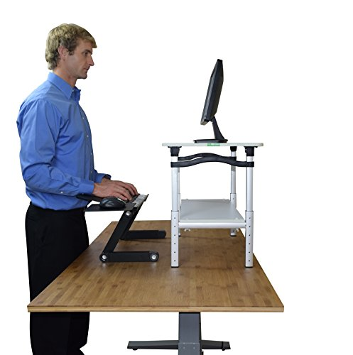 Amazon Com Lift Standing Desk Conversion Kit Tall Portable