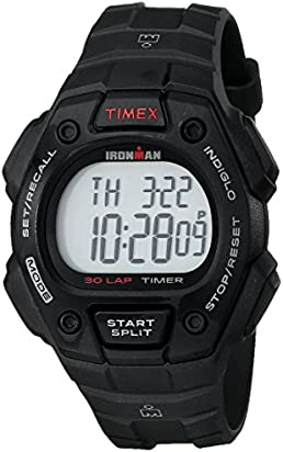 Timex Men's T5K822 Ironman Classic 30 Black Resin Strap Watch