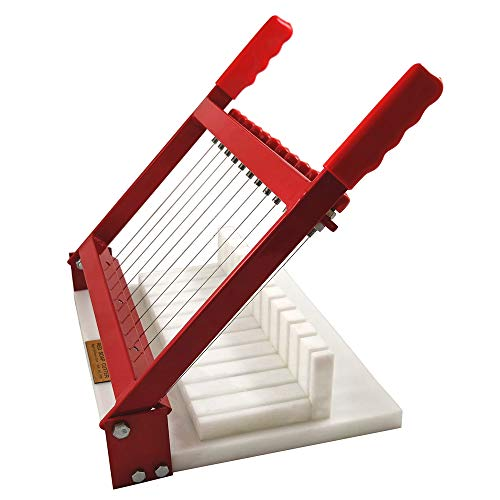 RED Soap Cutter - Perfectly Cuts 11 x 1 Inch Bars by Essential Depot (Image #1)