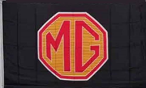 MG Red Car Flag 3' X 5' Indoor Outdoor Deluxe Auto Dealership Banner