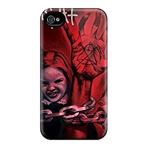 MarieFrancePitre Iphone 4/4s Durable Hard Cell-phone Cases Customized Realistic Mayhem Band Pictures [lFB467gTmk]