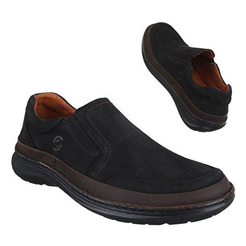 Ital-Design - Zapatos Hombre Negro - negro