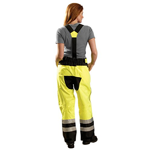 Stay Warm - Speed Collection Preimum Breathable Rain Pants - Class E - 3x-HI-VIZ YELLOW by Haynesville