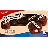 Entenmanns Creme Filled Cupcakes (Chocolate)